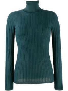 M Missoni slim-fit turtleneck jumper - Blue
