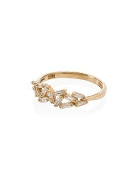 Suzanne Kalan 18kt gold Cluster diamond ring