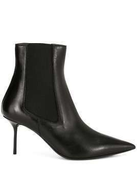 Tom Ford heeled chelsea boots - Black