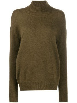 Alyki roll neck jumper - Green