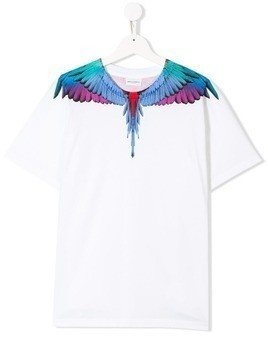 Marcelo Burlon County Of Milan Kids Wings T-shirt - White