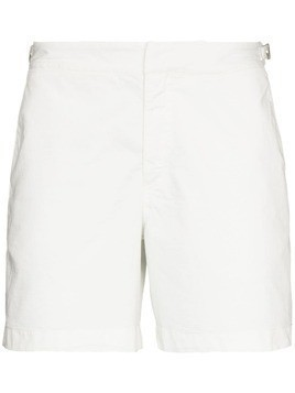 Orlebar Brown Bulldog unadorn swim shorts - White