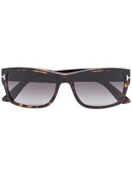 Tom Ford Eyewear square tinted sunglasses - Brown