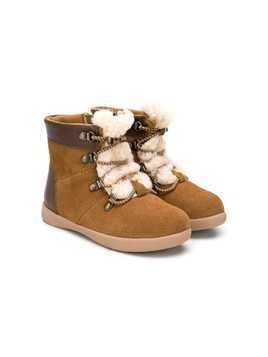 Ugg Australia Kids lace-up boots - Brown