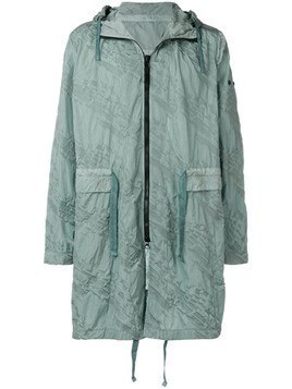 Stone Island Shadow Project packable parka coat - Green