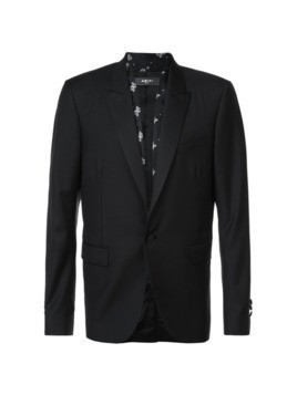 Amiri printed detail blazer - Black
