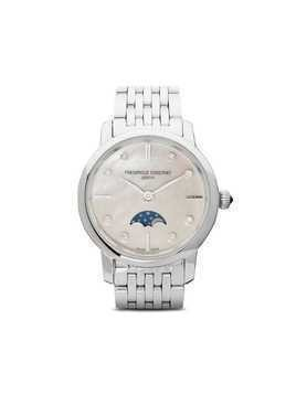 Frederique Constant Slimline Ladies Moonphase 30mm - White