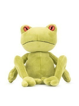 Jellycat frog soft toy - Green