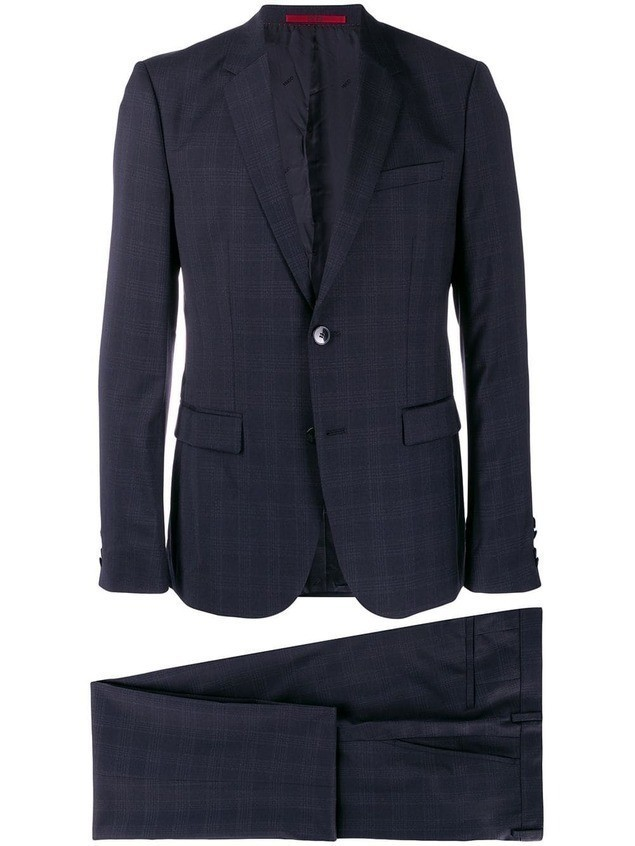 Boss Hugo Boss Astan suit - Blue