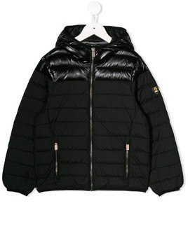 Ciesse Piumini Junior zipped hooded jacket - Black