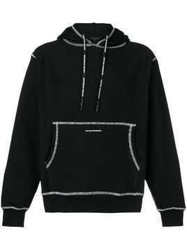 United Standard inside-out stitch hoodie - Black