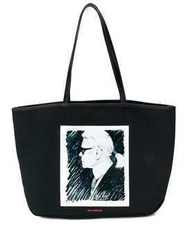 Karl Lagerfeld Karl Legend tote bag - Black