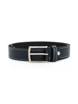 Colorichiari leather buckle belt - Blue