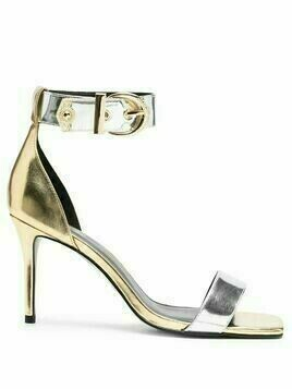 Versace Jeans Couture colour-block sandals - Grey