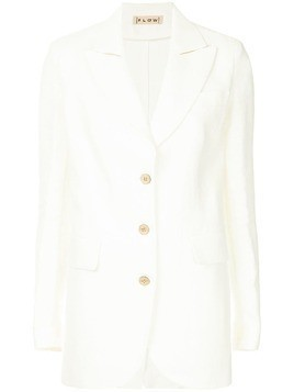 Flow The Label classic fitted blazer - White