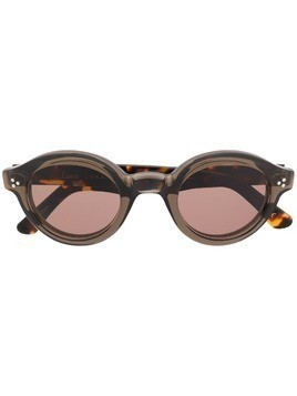 Lesca round shape sunglasses - Grey