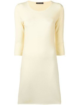 Iris Von Arnim fine knit dress - Yellow