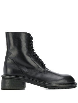 Ann Demeulemeester lace up ankle boots - Black