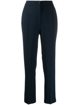 Etro tailored straight leg trousers - Blue