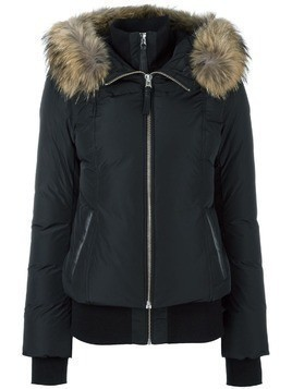 Mackage zip up puffer jacket - Black
