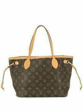 Louis Vuitton 2015 pre-owned Neverfull PM tote bag - Brown