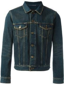 Saint Laurent classic denim jacket - Blue