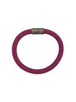 Carolina Bucci Twister band bracelet - Purple