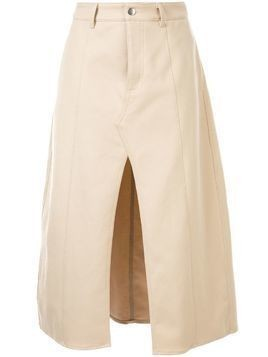 Georgia Alice slouch maxi skirt - Neutrals
