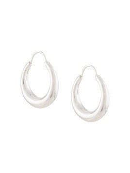 All Blues Hungry Snake hoop earrings - Silver