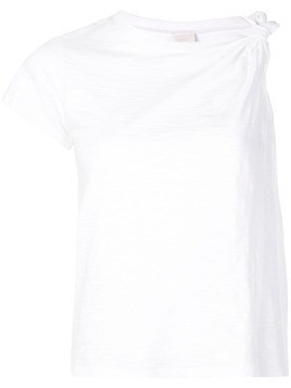 Cinq A Sept Audra one sleeve T-shirt - White