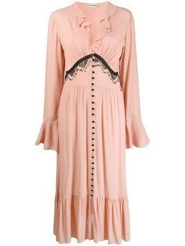 Giacobino bead embellished dress - PINK