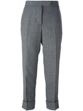 Thom Browne cropped tailored trousers - Grey