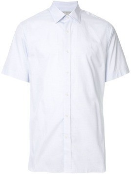 Gieves & Hawkes plain casual shirt - Blue