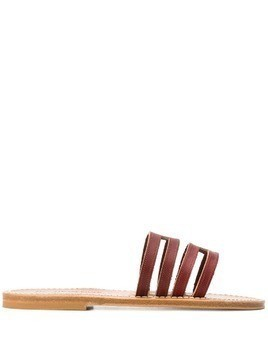 K. Jacques Hekla sandals - Red