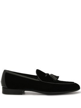 Magnanni tassel loafers - Black
