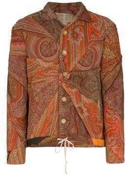By Walid Joel patchwork paisley jacket - Multicolour
