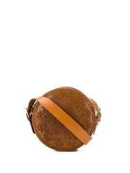 Antik Batik Kalai round bag - Brown