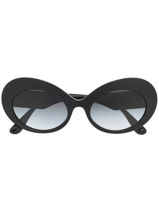 Dolce & Gabbana Eyewear oversized cat-eye sunglasses - Black