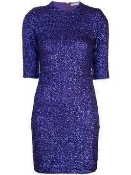 Alice+Olivia Inka mini dress - PURPLE