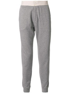 Kent & Curwen tapered track trousers - Grey