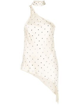 Haney Bowie embellished top - NEUTRALS