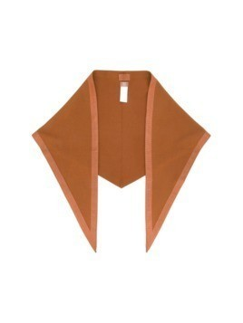 Hermès Vintage pointed shawl - Brown