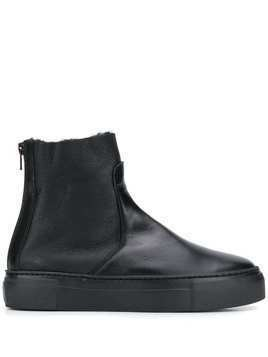 AGL flat ankle boots - Black