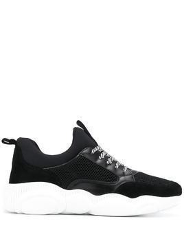Moschino Teddy Run low-top sneakers - Black