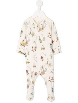 Stella Mccartney Kids bug print pajama - Nude & Neutrals