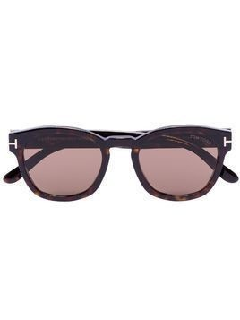 Tom Ford Eyewear Bryan square frame sunglasses - Brown