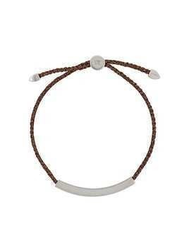 Monica Vinader Linear Large Friendship bracelet - Brown