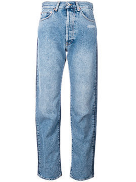 Off-White contrasting jeans - Blue