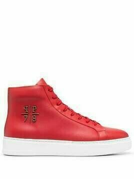 Philipp Plein PP1978 high-top sneakers - Red