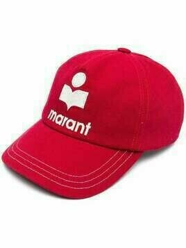 Isabel Marant embroidered logo cap